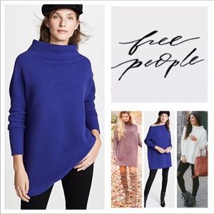 🆕Free People Ottoman Slouchy Tunic Sweater. NWOT.